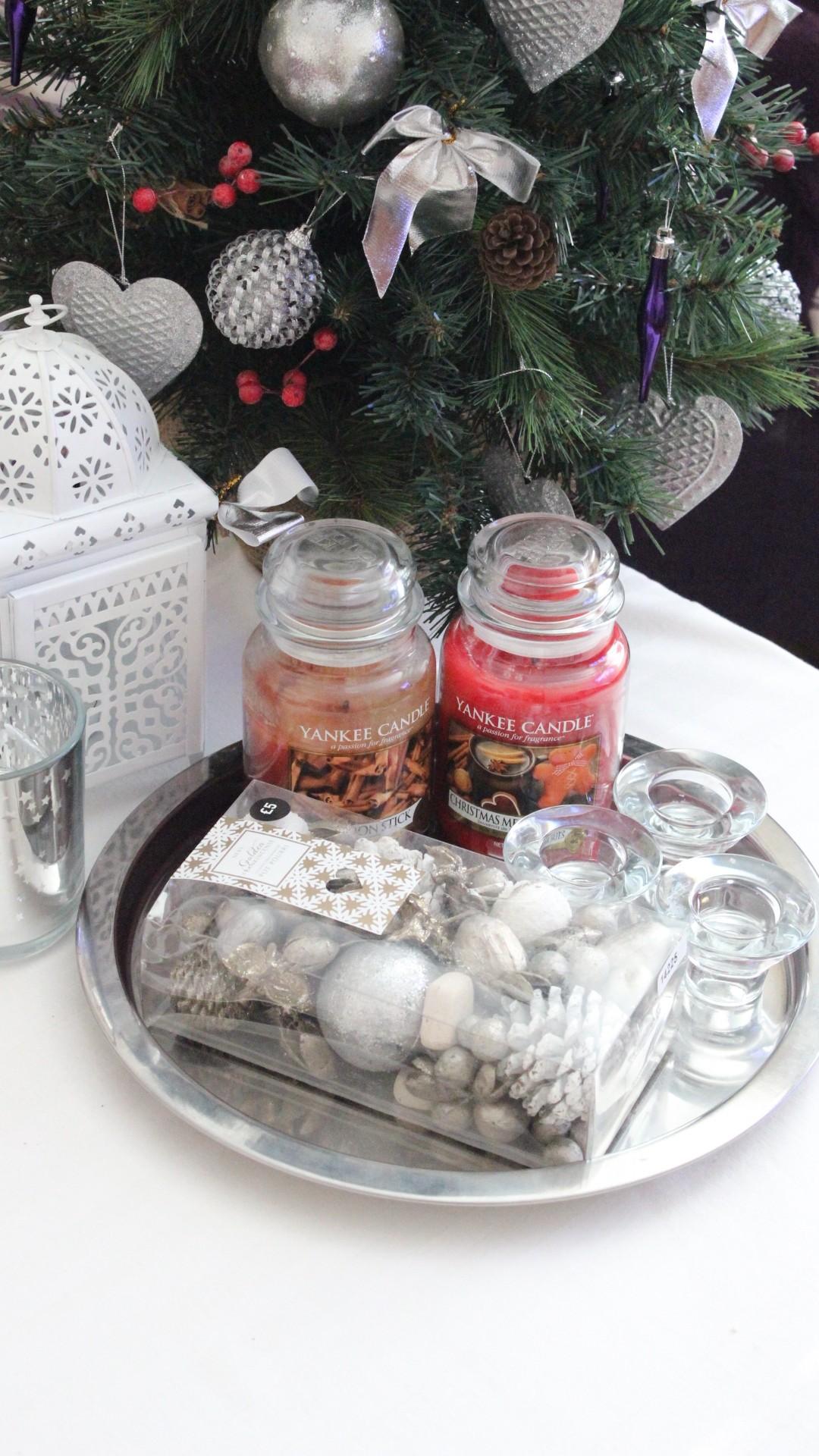 DIY candle centerpieces