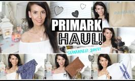 Primark Haul Summer 2015