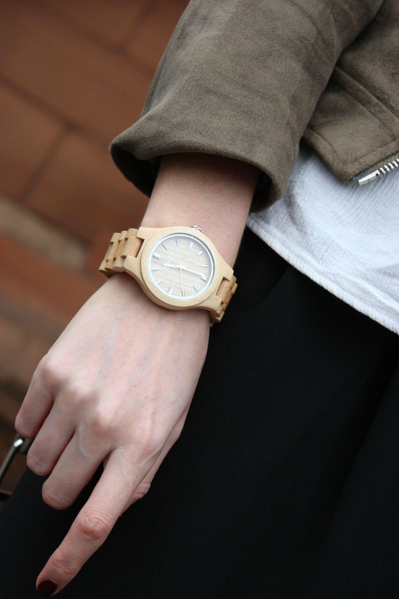 jord maple wooden watch