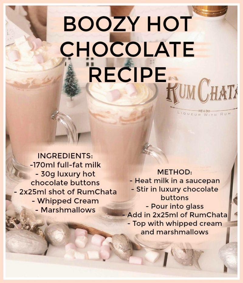 the best boozy hot chocolate recipe   rumchata hot chocolate recipe   alcoholic hot chocolate recipe   the best christmas hot chocolate recipe   belgian chocolate hot chocolate recipe