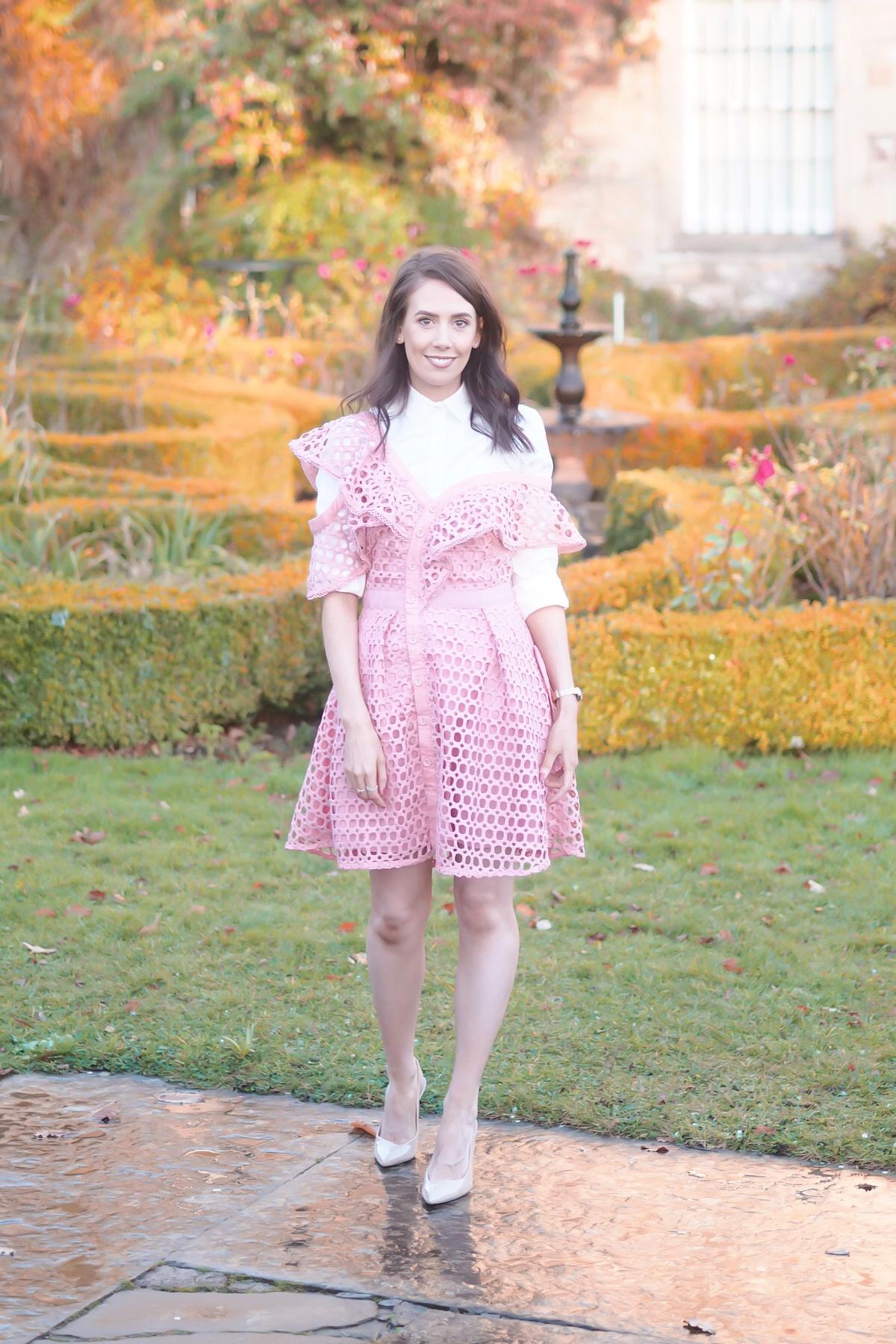 Self portrait dupe dress   khloe kardashian blue self portrait lace dress